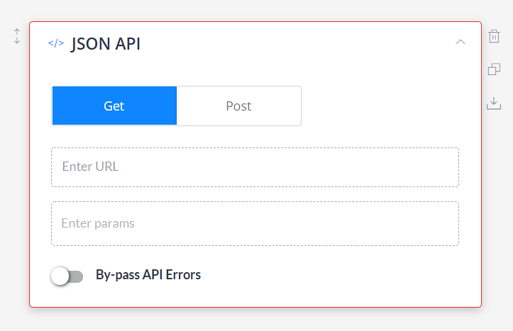 What is the JSON API Integration in Frontman's Story-builder